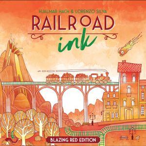 Railroad Ink Blazing Red Edition (2018)