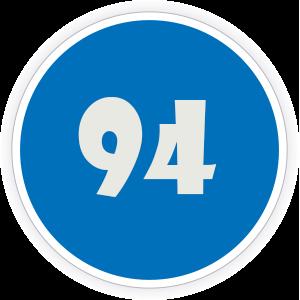 94 Sticker