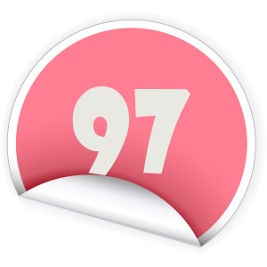 97 Sticker