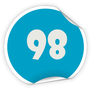 98 Sticker