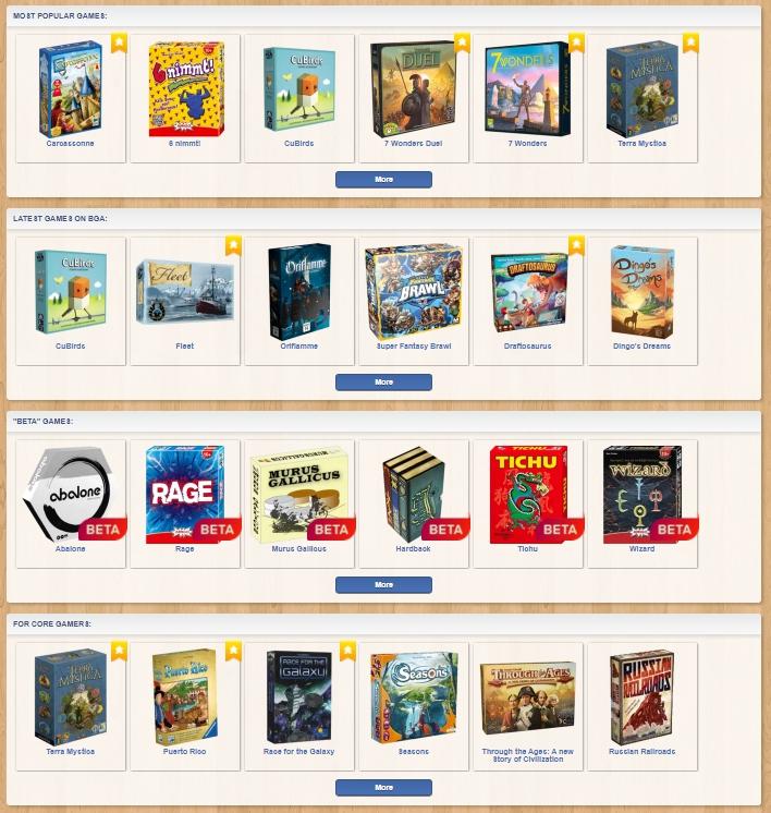 BoardGameArena-Games