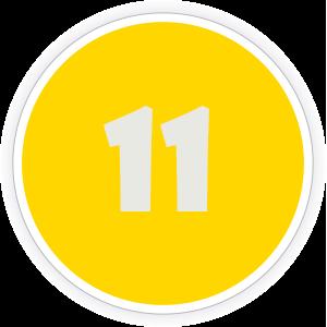 11 Sticker