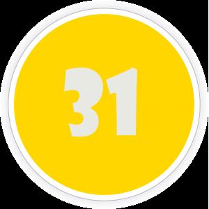 31 Sticker