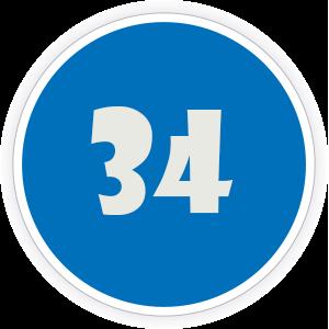 34 Sticker