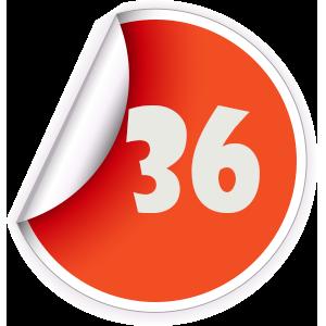 36 Sticker