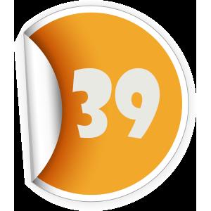 39 Sticker