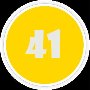41 Sticker