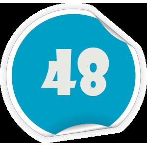 48 Sticker