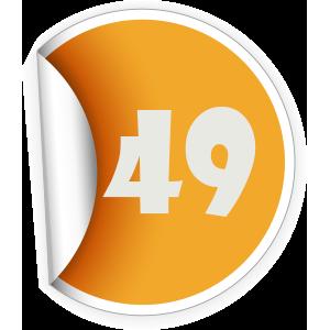49 Sticker