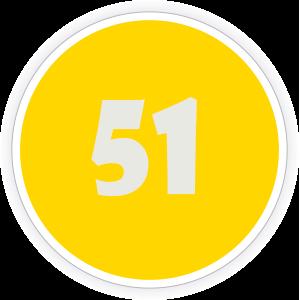 51 Sticker