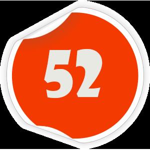 52 Sticker