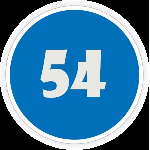 54 Sticker