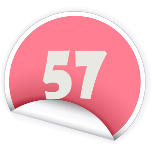 57 Sticker