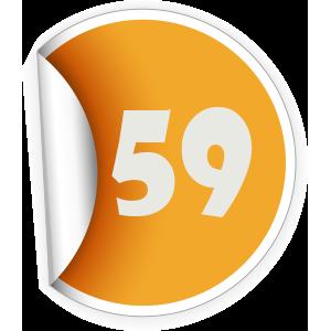 59 Sticker