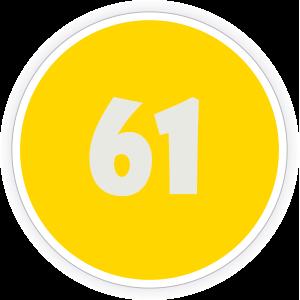 61 Sticker