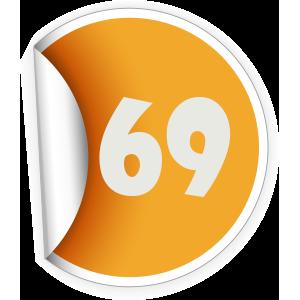 69 Sticker