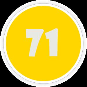 71 Sticker