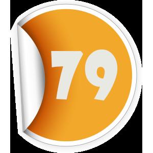 79 Sticker