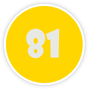 81 Sticker