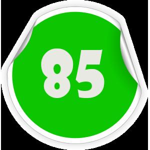 85 Sticker