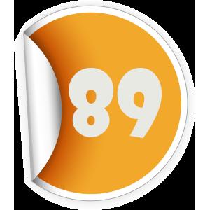 89 Sticker